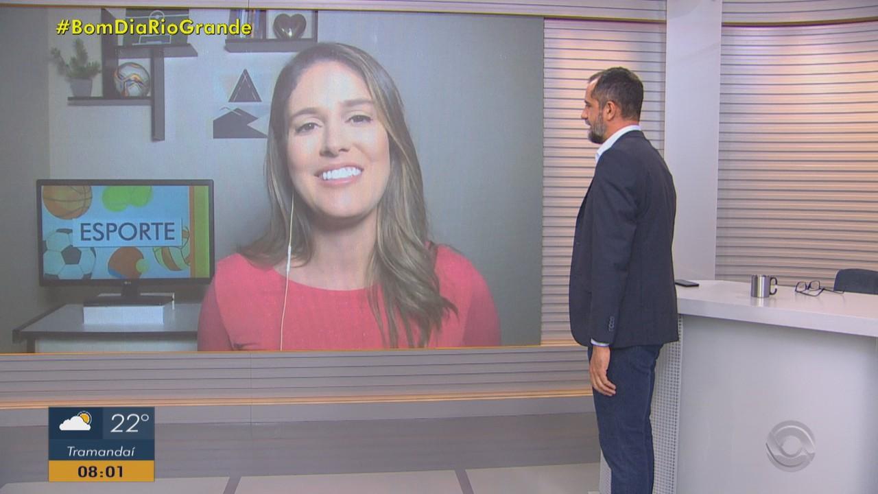 Confira os destaques do esporte no Bom Dia Rio Grande desta sexta-feira (27)