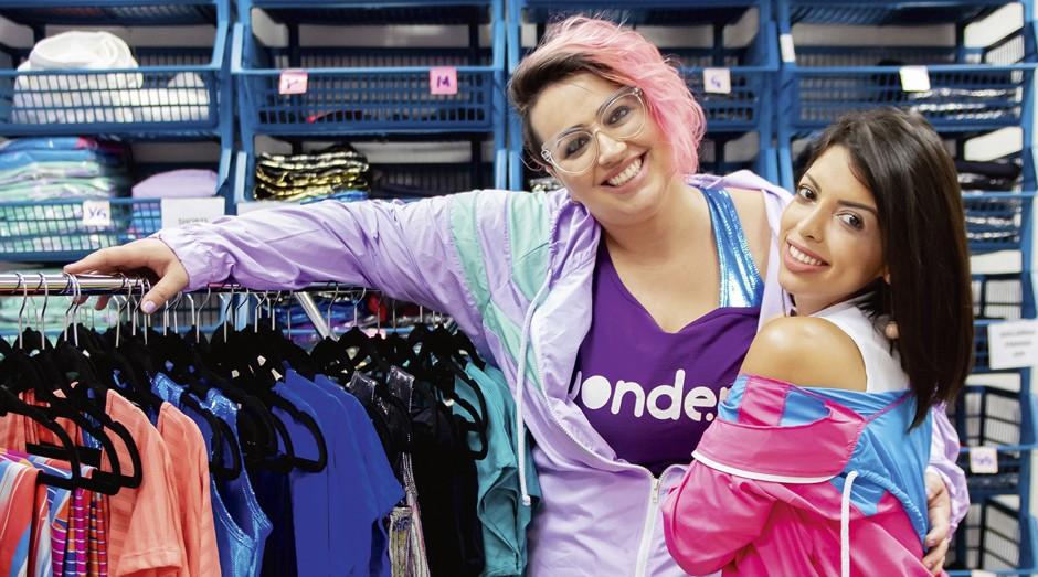 Amanda Momente e Marioli Oliveira, fundadoras da Wonder Size: moda fitness plus size (Foto: Camila Cara)