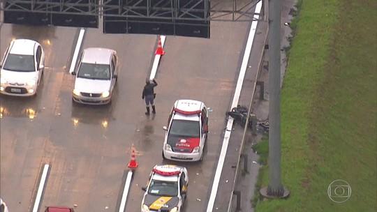 Motociclista morre em acidente na Rodovia Castello Branco, em Barueri