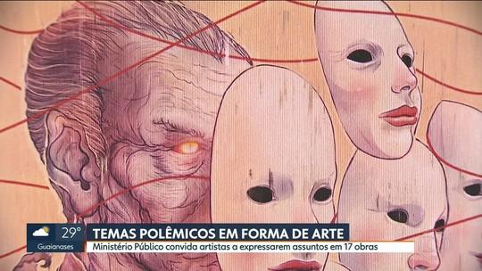 Investigações do Ministério Público inspiram obras em exposição em SP