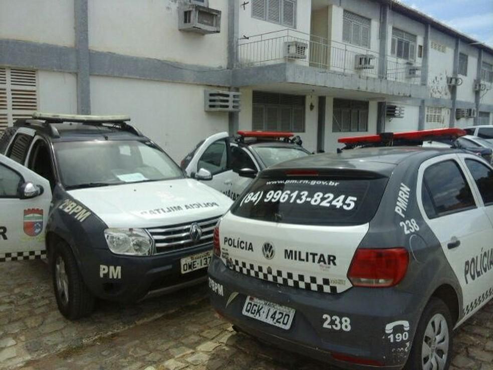 Em Mossoró, o policiamento foi reduzido por causa dos atrasos salariais (Foto: Cedida)