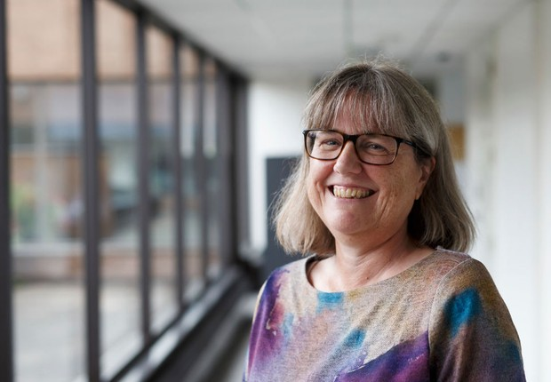 Donna Strickland, vencedora do Prêmio Nobel de Física em 2018 (Foto: Cole Burston/Getty Images)
