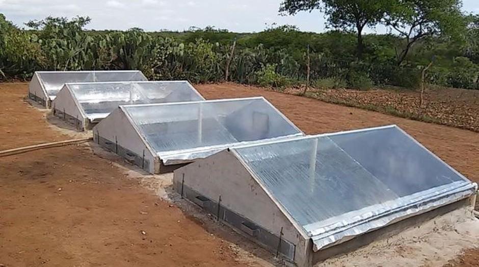 Dessalinizador solar de baixo custo  (Foto: Divulgação Fundação Banco do Brasil)