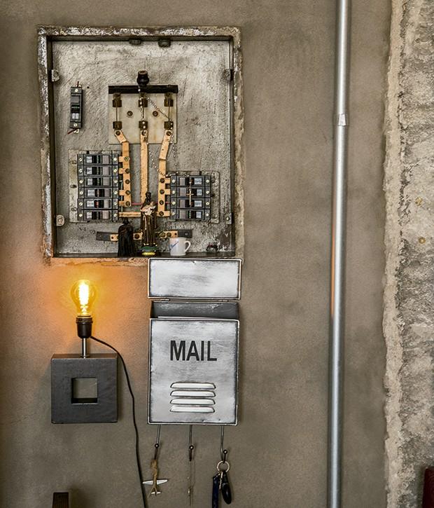 Lifestyle decor - O antigo quadro de luz (Foto: Rogério Voltan)