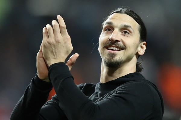 O jogador de futebol sueco Zlatan Ibrahimovic (Foto: Getty Images)