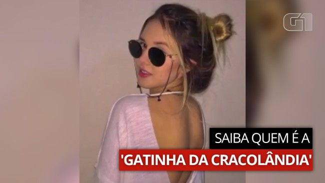VÍDEO: Saiba quem é a 'Gatinha da Cracolândia'