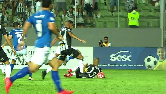 Os lances de Atlético 1 x 1 Cruzeiro