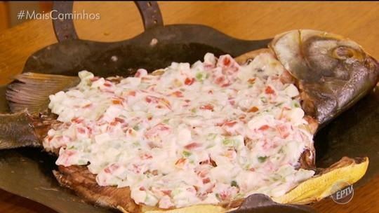 Tambaqui assado ao limonete é destaque no 'Segredos da Cozinha'