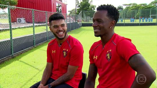 De Jacarepaguá para o Sport: Leandrinho e Hyuri se reencontram no Recife