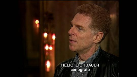 Corpo do cenógrafo Helio Eichbauer é cremado no Rio