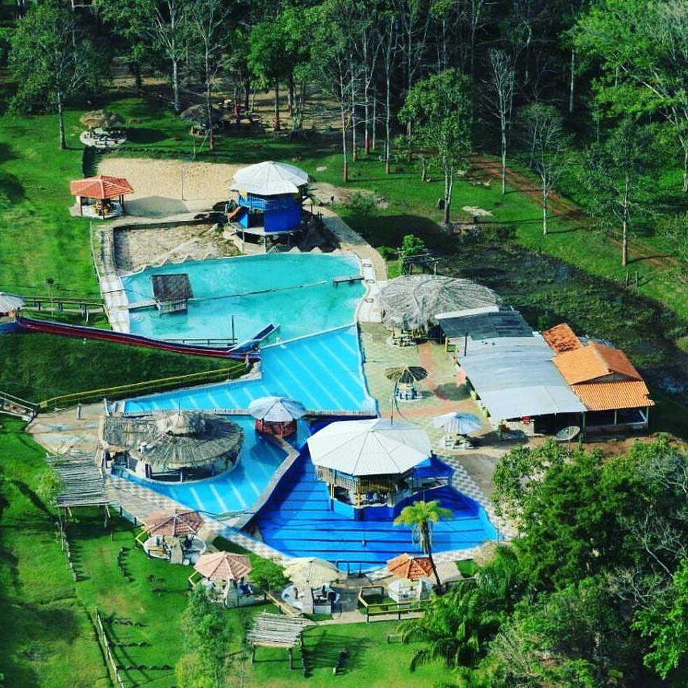 Menina de 4 anos que participava de excursão morreu afogada em piscina de balneário (Foto: Divulgação)