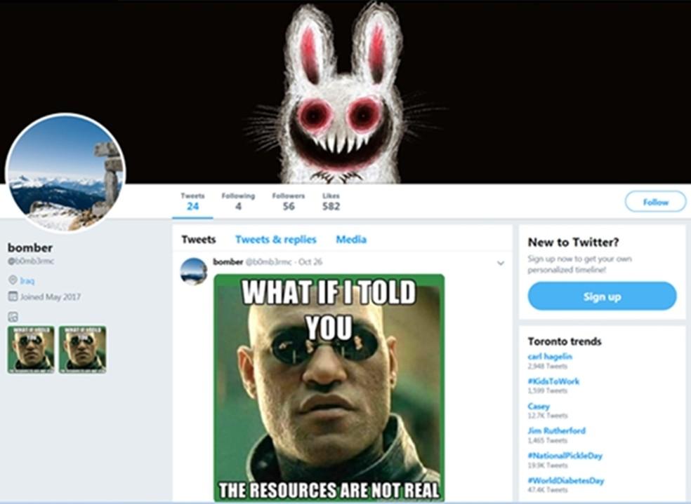 Trend Micro descobre vírus que se escondem em memes postados no Twitter — Foto: Reprodução/Trend Micro