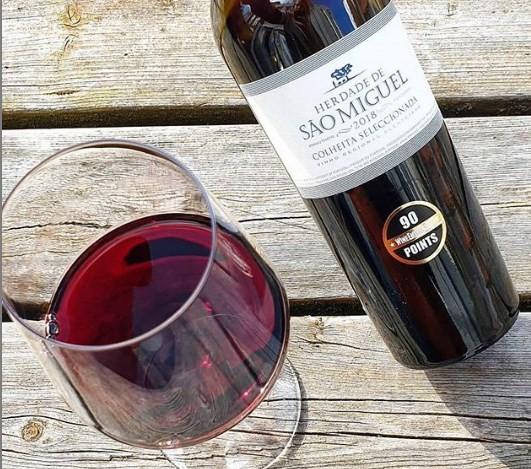 São Miguel Colheita Fracionada tinto: safra 2018 recebeu 90 pontos da Wine Enthusiast