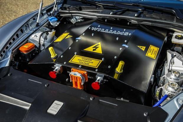 Aston Martin RapidE (Foto: Divulgação)