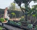 Anna Hickmann anunciou num vídeo, no seu canal no YouTube, que se mudou com a família para sua mansão em Itu: 'Por tudo que aconteceu no mundo, antecipamos nossos planos'. A apresentadora mostrou a casa em detalhes nos bastidores de um ensaio  | Reprodução