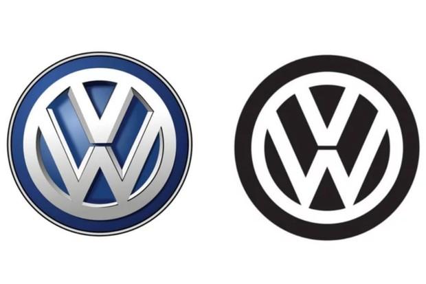 O novo logo da Volkswagen (Foto: Divulgação)