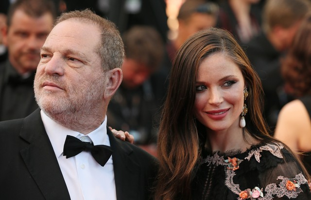 Georgina Chapman e Harvey Weinstein  (Foto: Getty Images)
