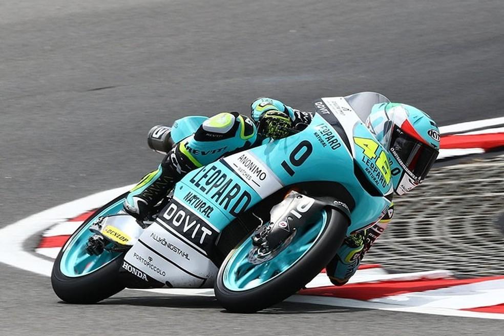 O campeão Dalla Porta faturou sua quarta vitória na temporada... — Foto: Internet