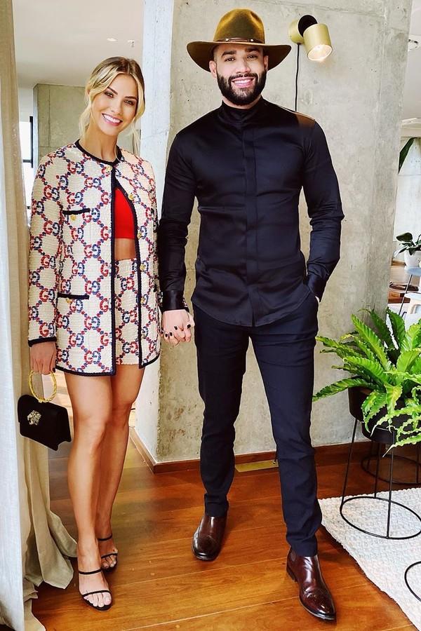 Andressa Suita e Gusttavo Lima (Foto: Reprodução/Instagram)