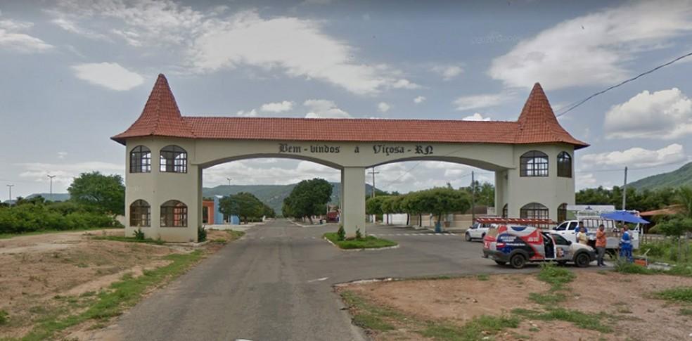 Viçosa, no Alto Oeste potiguar, teve 10 candidatos para 9 vagas na Câmara Municipal — Foto: Google