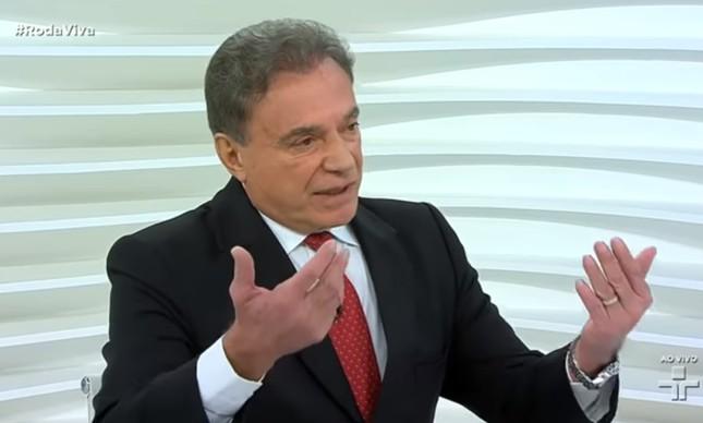 Alvaro Dias em entrevista ao Roda Viva