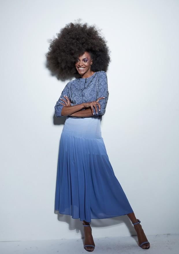 Azul é a cor mais quente   (Foto: Arquivo Vogue/  Manuel Nogueira)