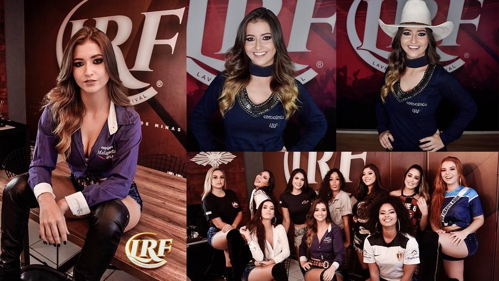 Laura Malheiros, candidata à rainha do Lavras Rodeo Festival 2019 — Foto: Clinton Barbosa