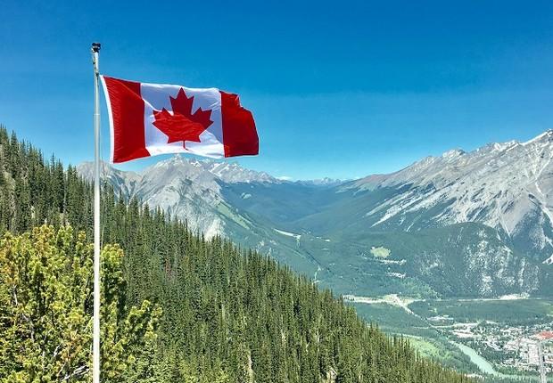 Bandeira do Canadá (Foto: Pexels)