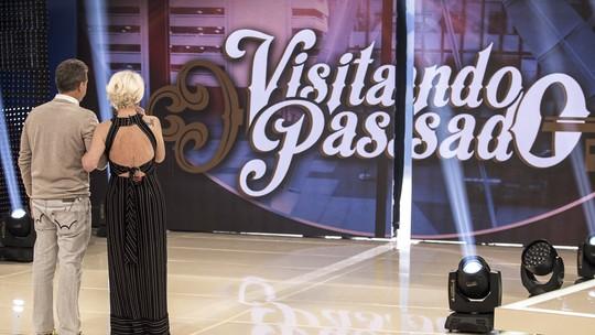 Ana Maria Braga chora com surpresa do Visitando o Passado; veja prévia