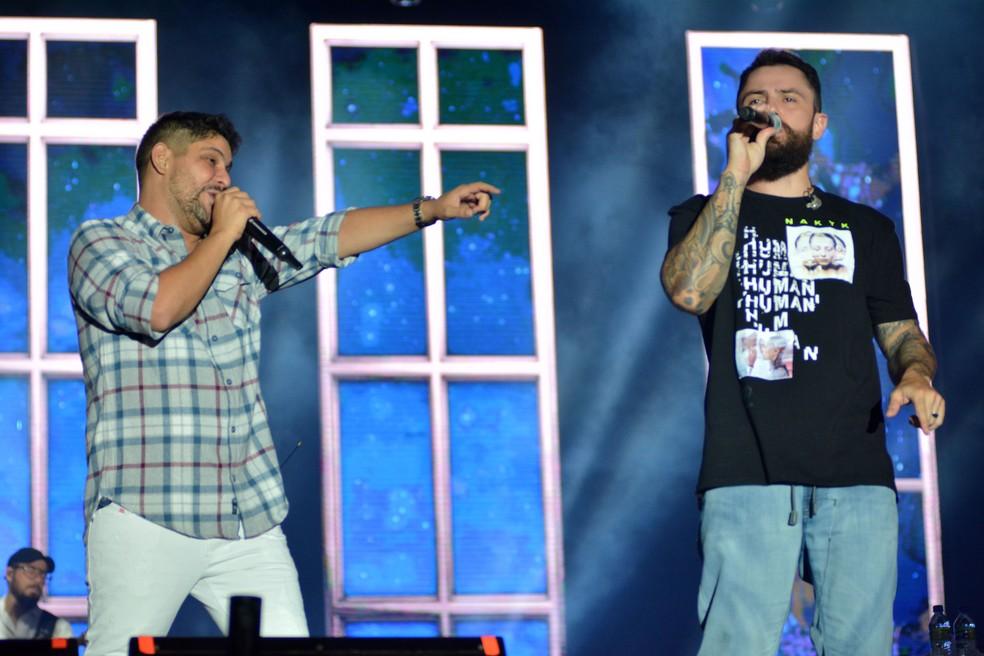 Jorge e Mateus — Foto: Elias Dantas / Ag. Haack