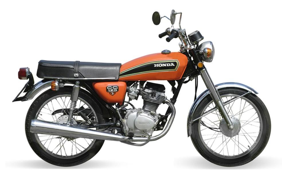 Honda CG 125 — Foto: Divulgação
