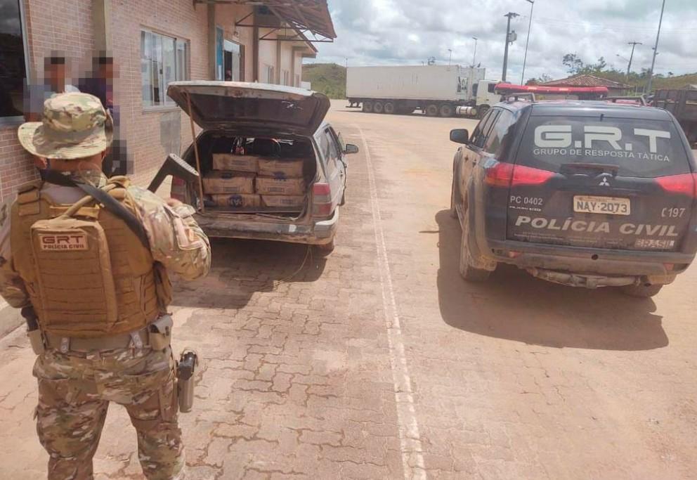 Polícia Civil apreende 200 Kg de farinha de milho da Venezuela em Pacaraima, Norte de Roraima