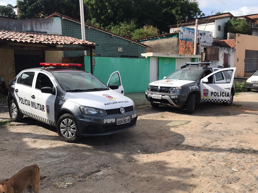 Josivania Silva de Santana, de 22 anos, foi assassinada a tiros enquanto voltava para casa, em Natal — Foto: Kleber Teixeira/Inter TV Cabugi
