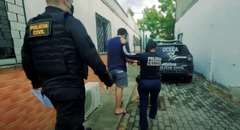 Cinco homens são presos em operação de combate a pornografia e crimes sexuais contra crianças e adolescentes, em Fortaleza