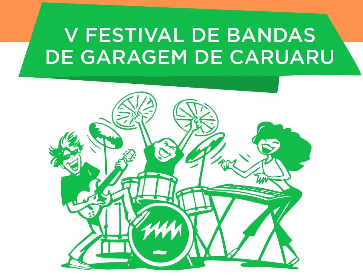 Festival de Bandas de Garagem será realizado neste sábado (21) em Caruaru