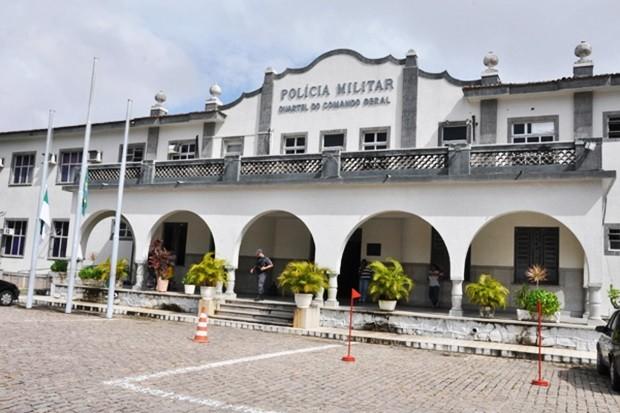Quartel Geral da Polícia Militar do Rio Grande do Norte (Foto: Adriano Abreu/Tribuna do Norte)