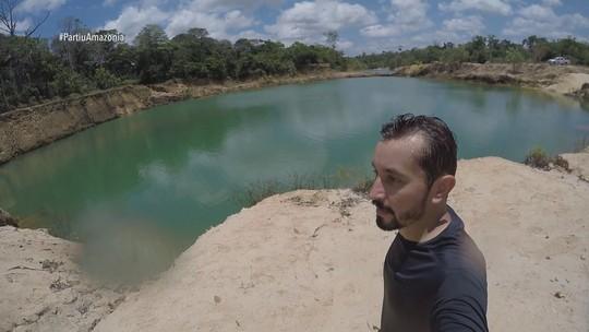 Reprise: 'Partiu Amazônia' visita Serra do Navio, no Amapá