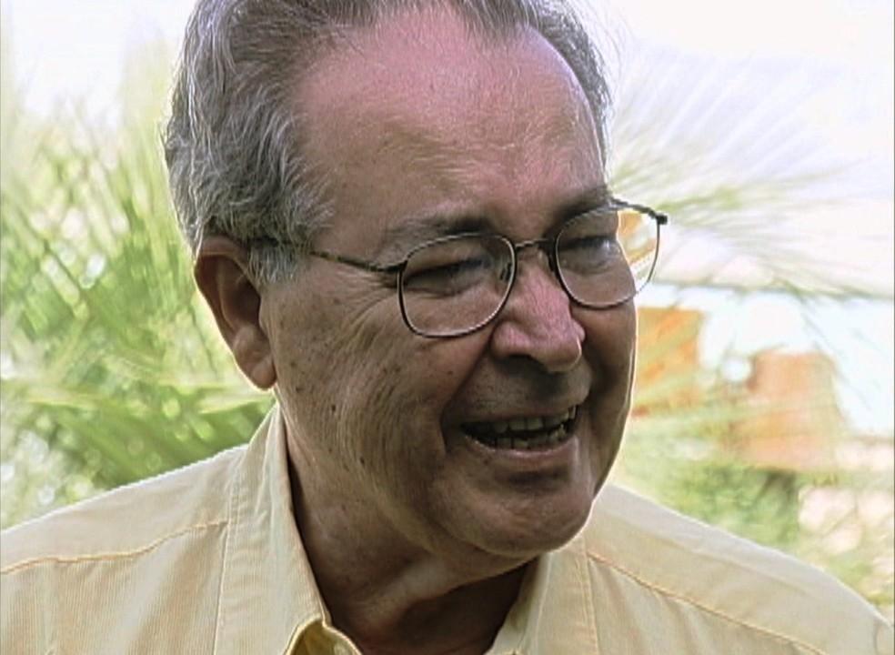 Warwick Kerr completou 96 anos na última semana e estava internado no interior de SP — Foto: Reprodução/TV Integração