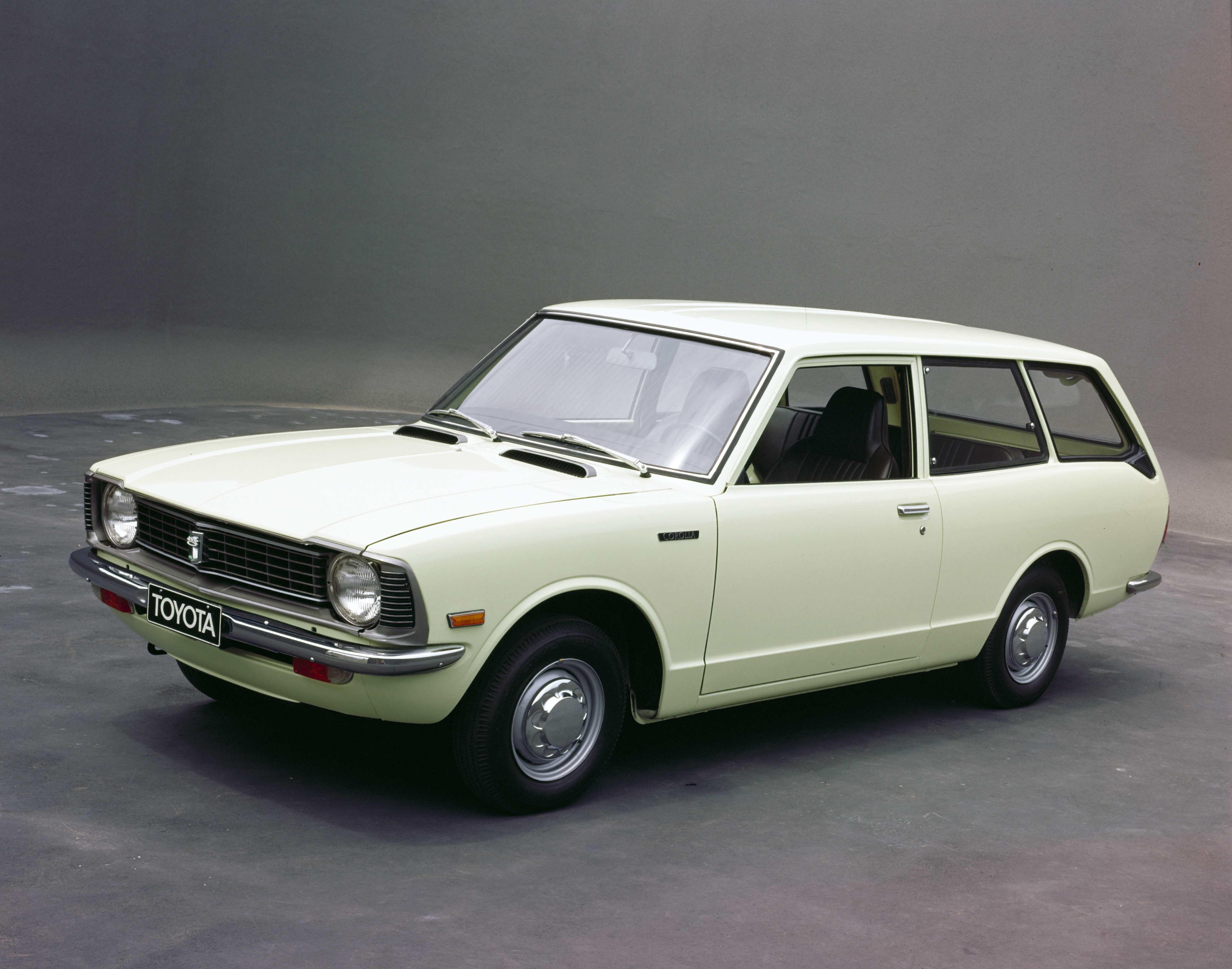 Toyota Corolla segunda geração - 1970