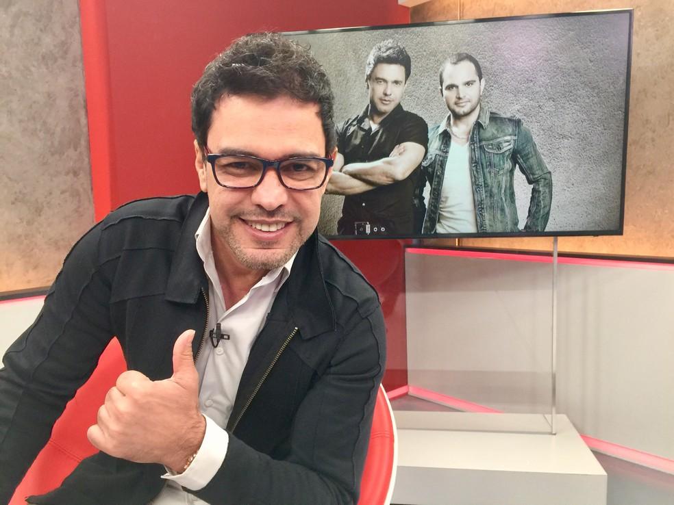Zezé Di Camargo (Foto: Eduardo Palácio/G1)