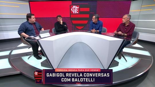 """Comentarista diz que Balotelli é um bom nome para Flamengo: """"Eu quero maluco no meu time"""""""