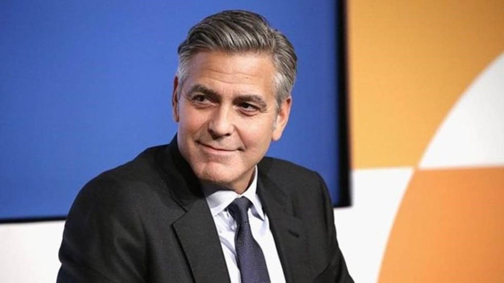 O ator George Clooney também sofreu com perda de líquido cefalorraquidiano (Foto: Getty Images)