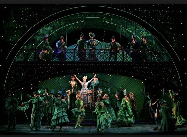 Wicked, na Broadway (Foto: Divulgação)