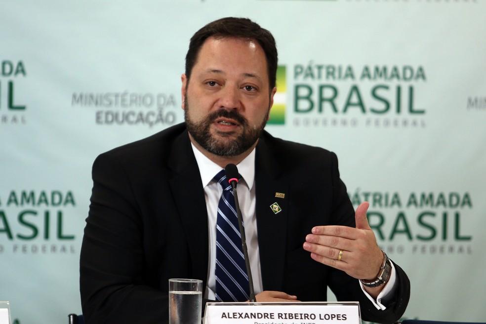 Alexandre Lopes, presidente do Inep. — Foto: Gabriel Jabur/MEC