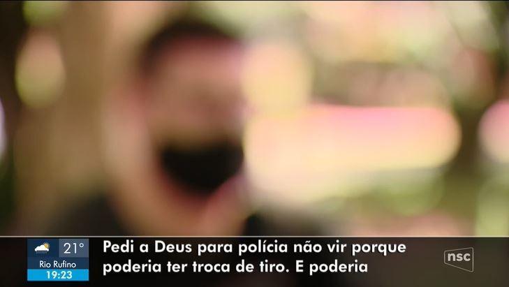 'Pensava às vezes que ia morrer', diz vigilante feito refém por mais de 2 horas no assalto de Criciúma
