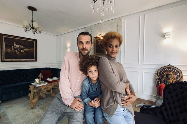 Igor Rickly, Aline Wirley e Antônio (Foto: Jorge Bispo)