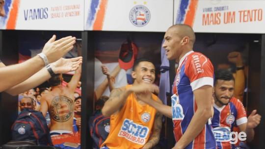 Gol, assistência e música: Nino diz que jogo contra o Londrina foi o mais marcante pelo Bahia