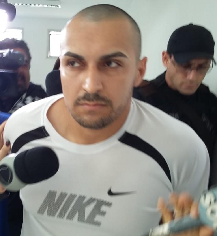 Suspeito de matar Rayane Paulino é preso em Mogi das Cruzes — Foto: Natan Lira/G1
