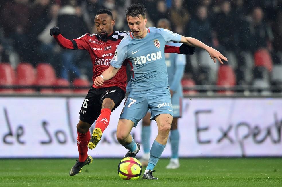Golovin chegou ao Monaco no começo da temporada — Foto: AFP