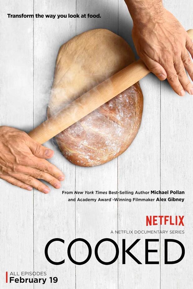 """Pôster do documentário """"Cooked' (Foto: Netflix / Divulgação)"""